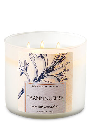 Frankincense 3-Wick Candle - Bath And Body Works
