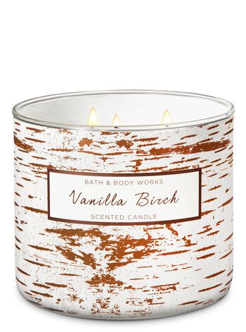 Vanilla Birch 3-Wick Candle - Bath And Body Works