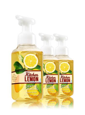 Kitchen Lemon 3-Pack Gentle Foaming Soap - Bath And Body Works