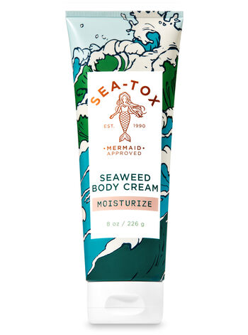 Sea-Tox Seaweed Body Cream - Bath And Body Works