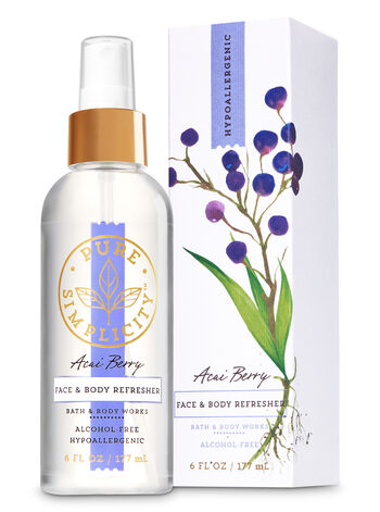 Acai Berry Face & Body Refresher