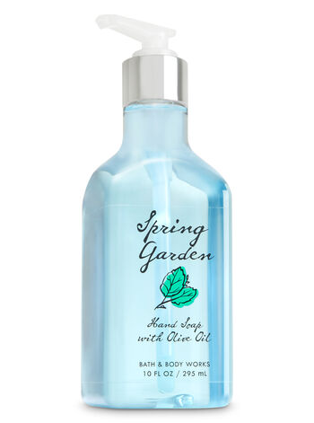 Spring Garden Hand Soap with Olive Oil - Bath And Body Works