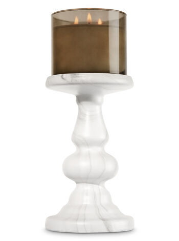 love glass candle whale pedestal holders