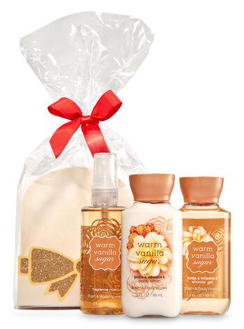 Warm Vanilla Sugar Mini Scents & Sparkle Gift Set - Bath And Body Works