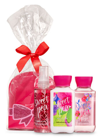 Sweet Pea Mini Scents & Sparkle Gift Set - Bath And Body Works