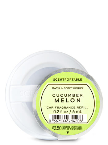 Cucumber Melon Scentportable Fragrance Refill - Bath And Body Works