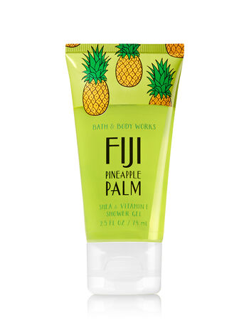 Signature Collection Fiji Pineapple Palm Travel Size Shower Gel - Bath And Body Works