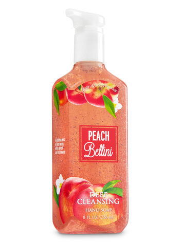Peach Bellini Deep Cleansing Hand Soap - Bath And Body Works