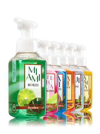 Destinations 6-Pack Gentle Foaming Soap - Bath And Body Works