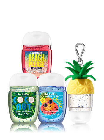 Beach Favorites 3-Pack PocketBac & Holder - Bath And Body Works