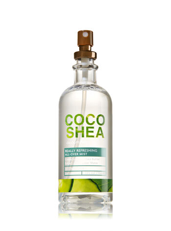 Signature Collection CocoShea Cucumber All-Over Mist - Bath And Body Works