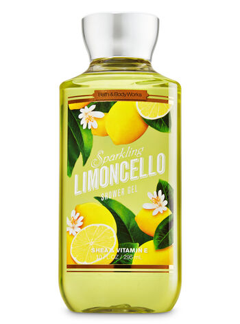 Signature Collection Sparkling Limoncello Shower Gel - Bath And Body Works