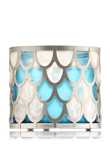 Capiz Shell 3-Wick Candle Sleeve