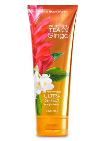 Signature Collection White Tea & Ginger Ultra Shea Body Cream - Bath And Body Works