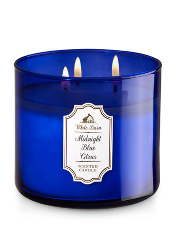 Midnight Blue Citrus 3-Wick Candle - Bath And Body Works