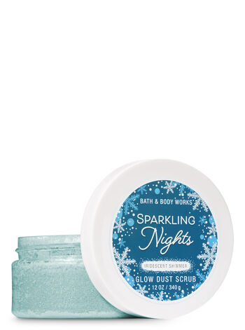 Signature Collection Sparkling Nights Glow Dust Scrub - Bath And Body Works