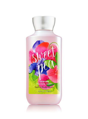Signature Collection Sweet Pea Luxury Bubble Bath - Bath And Body Works