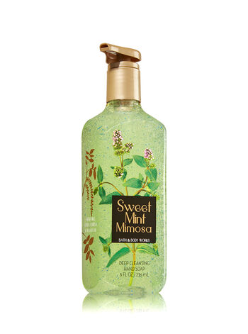 Sweet Mint Mimosa Deep Cleansing Hand Soap - Bath And Body Works