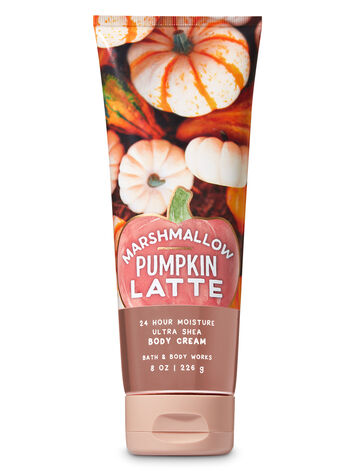 Marshmallow Pumpkin Latte Ultra Shea Body Cream - Bath And Body Works