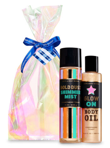 Champagne Toast Glow On Gift Set - Bath And Body Works