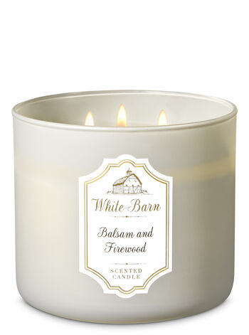 Balsam & Firewood 3-Wick Candle - Bath And Body Works