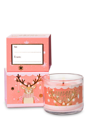 Champagne Toast Mini Candle - Bath And Body Works