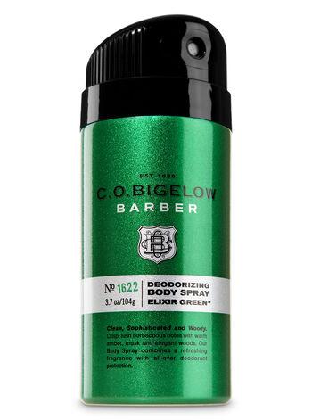 C.O. Bigelow Elixir Green Men's Deodorizing Body Spray - Bath And Body Works