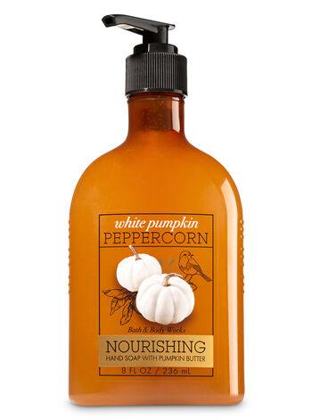 White Pumpkin Peppercorn Hand Soap with Pumpkin Butter - Bath And Body Works