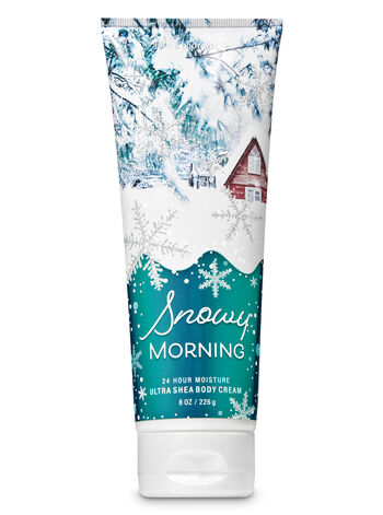 Signature Collection Snowy Morning Ultra Shea Body Cream - Bath And Body Works