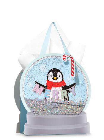 Penguin Shake Up Medium Gift Bag - Bath And Body Works