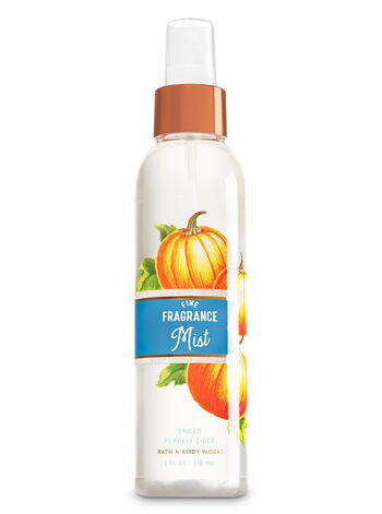 Signature Collection Spiced Pumpkin Cider Fine Fragrance Mist - Bath And Body Works