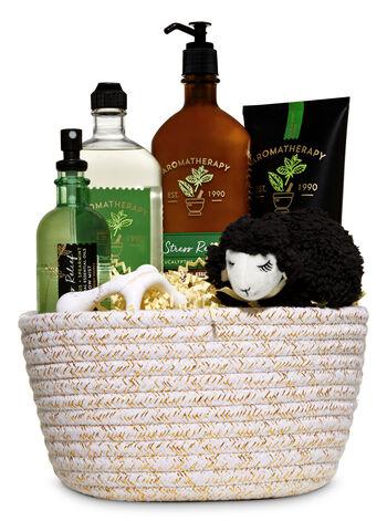 Eucalyptus & Spearmint Aromatherapy Gift Basket - Bath And Body Works