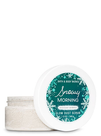 Signature Collection Snowy Morning Glow Dust Scrub - Bath And Body Works