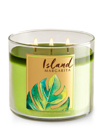 Island Margarita 3-Wick Candle - Bath And Body Works