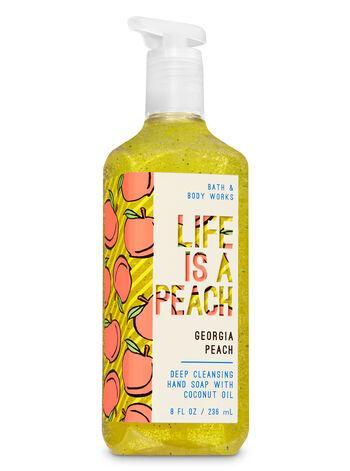 Georgia Peach Deep Cleansing Hand Soap - Bath And Body Works