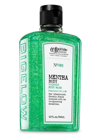 C.O. Bigelow Mentha Vitamin Body Wash - Bath And Body Works