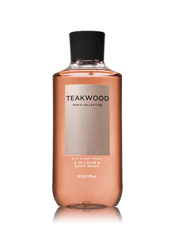 Signature Collection Teakwood 2-in-1 Hair + Body Wash - Bath And Body Works