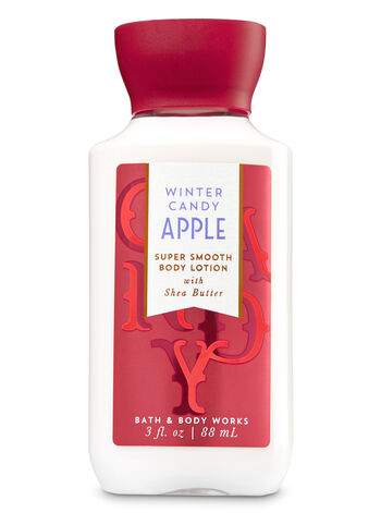 Signature Collection Winter Candy Apple Travel Size Body Lotion - Bath And Body Works
