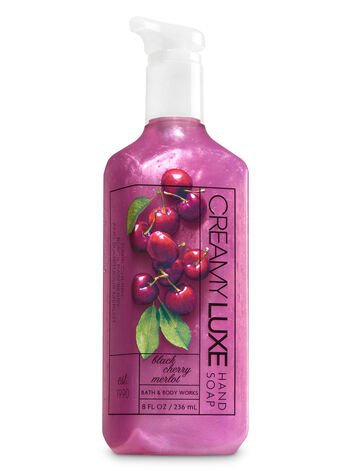 Black Cherry Merlot Creamy Luxe Hand Soap - Bath And Body Works