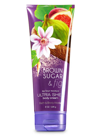 Signature Collection Brown Sugar & Fig Ultra Shea Body Cream - Bath And Body Works