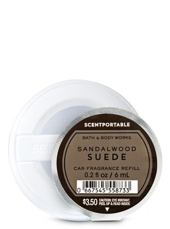 Sandalwood Suede Scentportable Fragrance Refill - Bath And Body Works