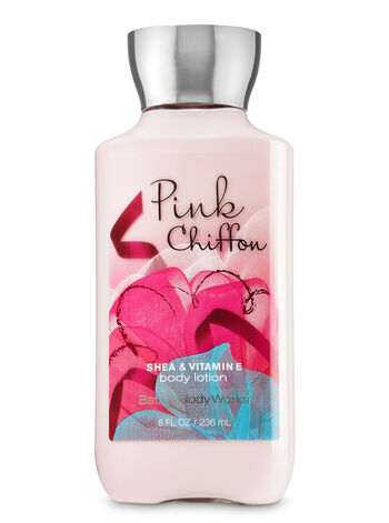 Signature Collection Pink Chiffon Body Lotion - Bath And Body Works
