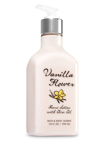 Vanilla Flower Hand Lotion with Olive Oil - Bath And Body Works
