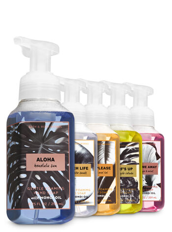 Washed Ashore 5-Pack Gentle Foaming Hand Soap - Bath And Body Works