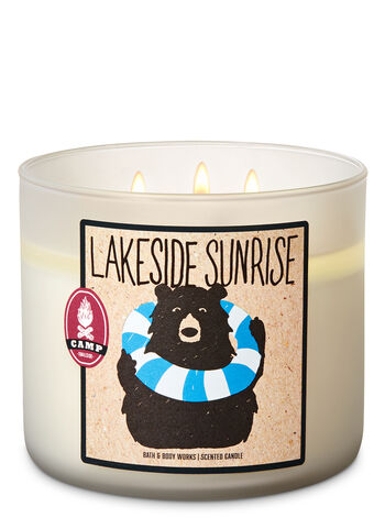 Lakeside Sunrise 3-Wick Candle - Bath And Body Works