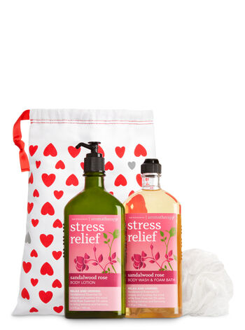 Aromatherapy Sandalwood Rose Aromatherapy Gift Kit - Bath And Body Works