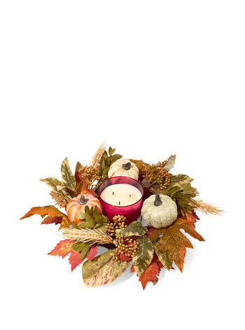 Pumpkin 3-Wick Candle Ring - Bath And Body Works