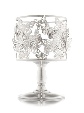 Butterfly Pedestal Candle Holder
