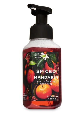 Spiced Mandarin Gentle Foaming Hand Soap - Bath And Body Works