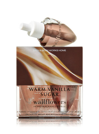Warm Vanilla Sugar Wallflowers 2-Pack Refills - Bath And Body Works